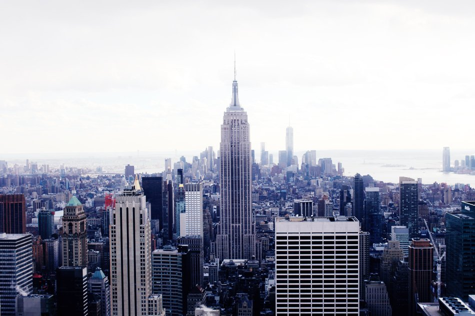 nyc | empire state building | top of the rock