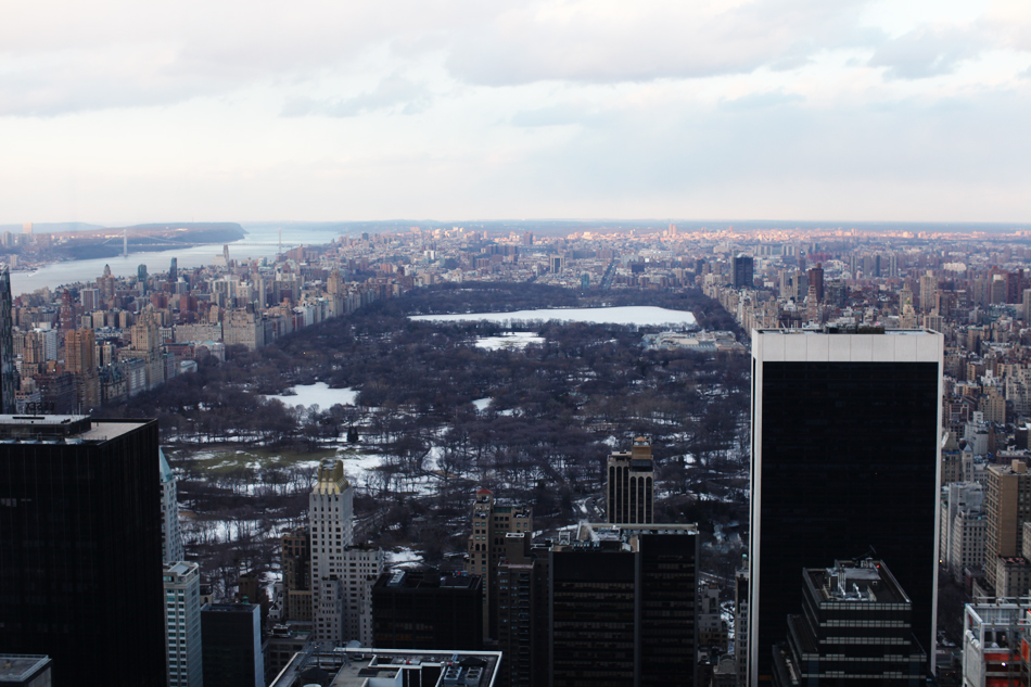 central park | top of the rock
