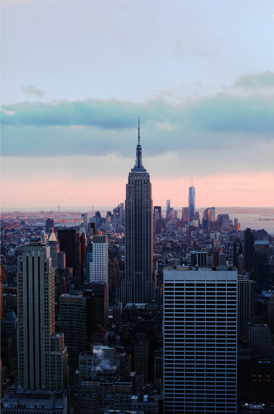 empire state building | top of the rock
