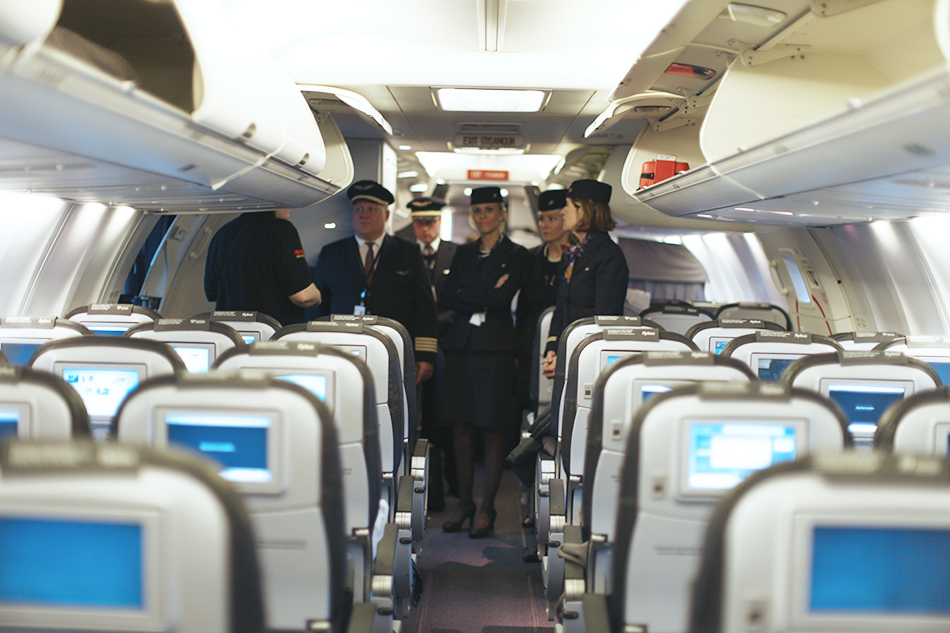 Flying Iceland Air