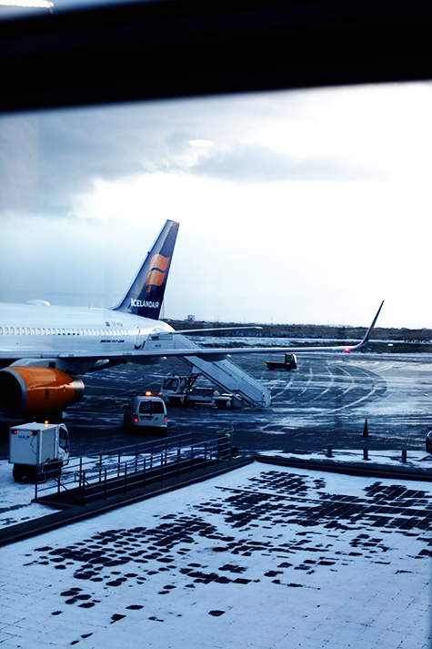 Iceland Air Keflavik Airport
