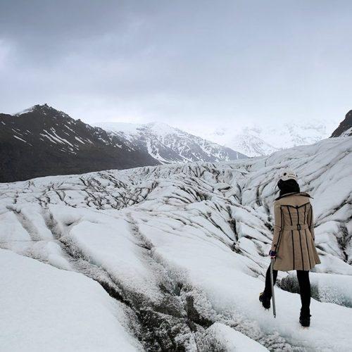 Iceland Hike Glacier