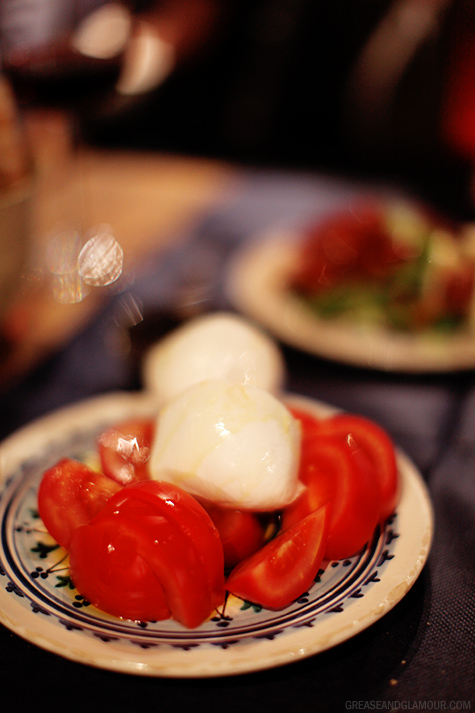 Buffalo Mozzarella and Tomatoes | Eating in Florence, Italy