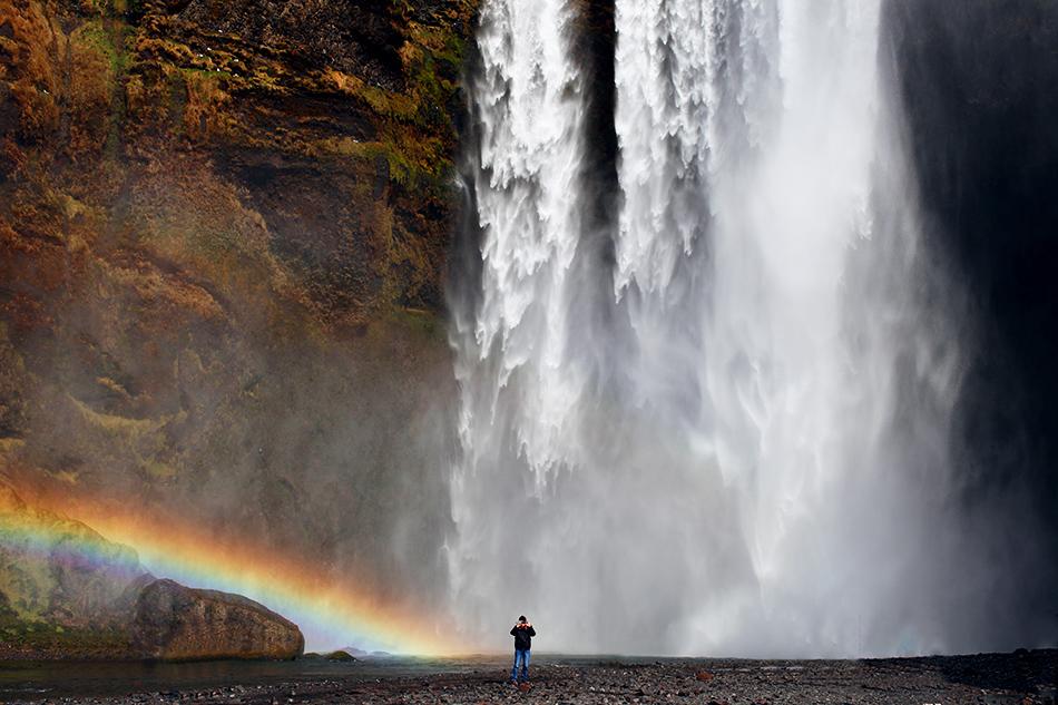 Skogafoss Waterfall   Iceland   Grease & Glamour