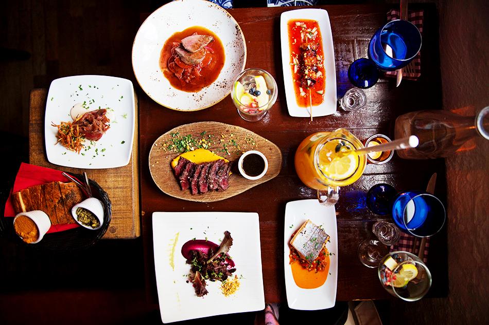 Eating at Tapas Barinn Iceland Reykjavik