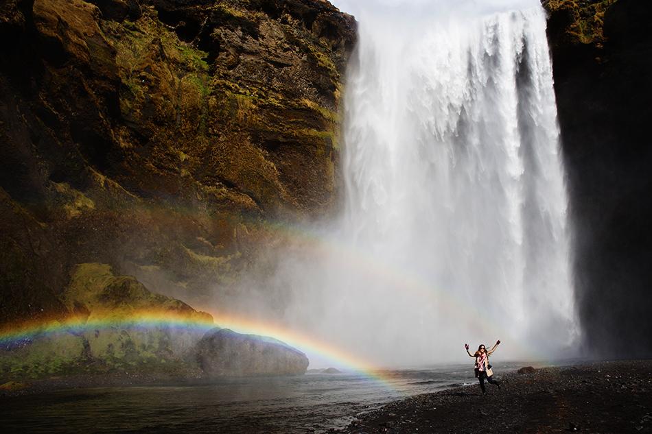 Skogafoss, Iceland | Grease & Glamour | Travel
