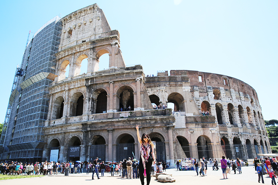 Colosseum, Rome | Travel | Grease & Glamour