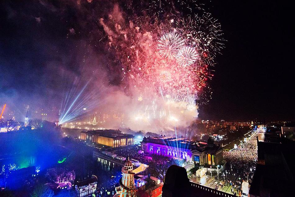 Edinburgh Scotland Hogmanay Festival New Year'sEdinburgh Scotland Hogmanay Festival New Year's