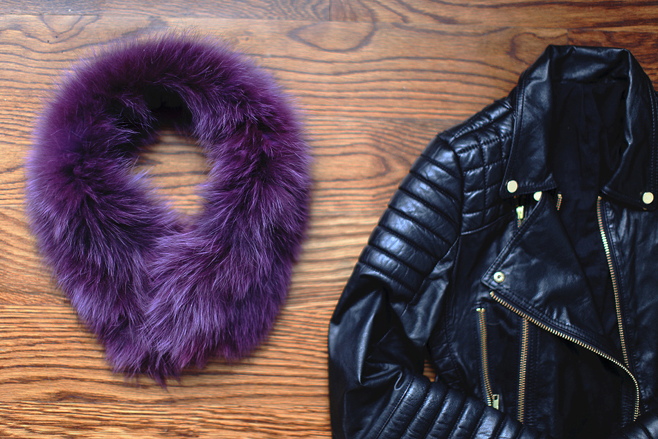 ML Furs | Fur Collar Scarf