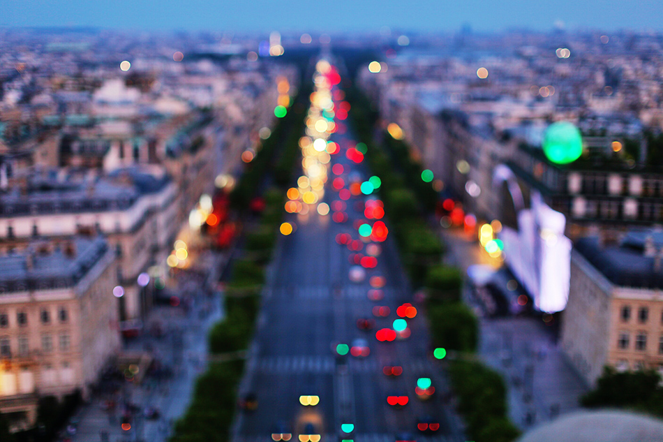 Champs Elysees Bokeh | Paris, France | Travel Inspiration