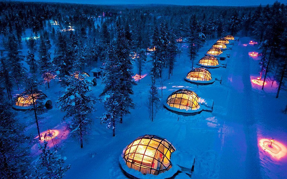 Igloo Hotel | Finland | Travel | Northern Lights