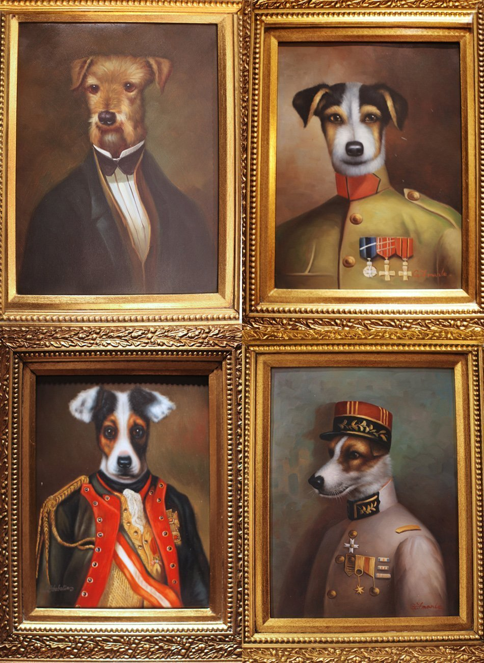 The World's Most Royal Dogs Live in This Paris Hotel