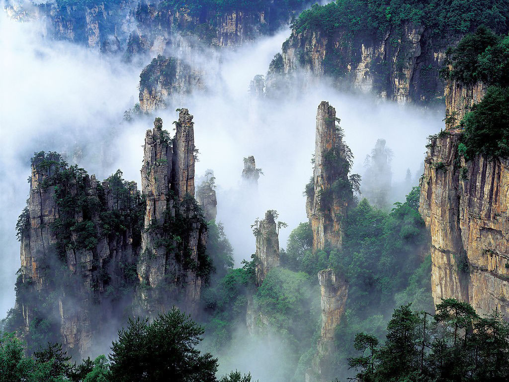 Tianzi Mountains, China | Travel