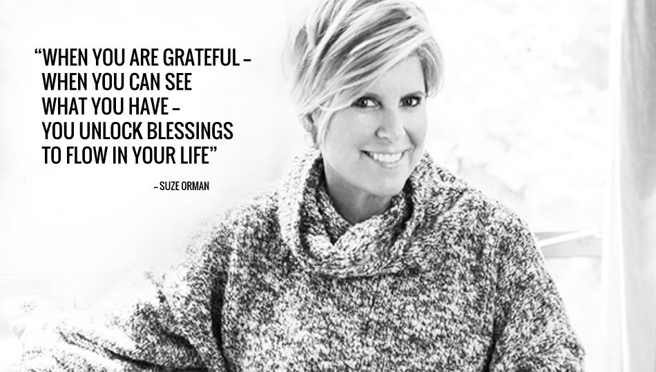 suze orman inspirational quote