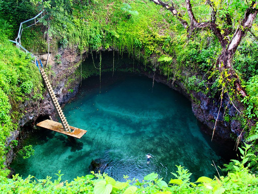 Tosua Pool, Samoa | Travel