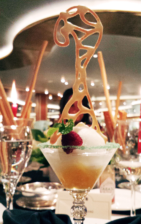 Sorbet in a Martini Glass | Food Inspiration | Princess Cruises