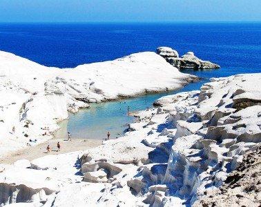 Sarakiniko-Beach-Milos-Greece