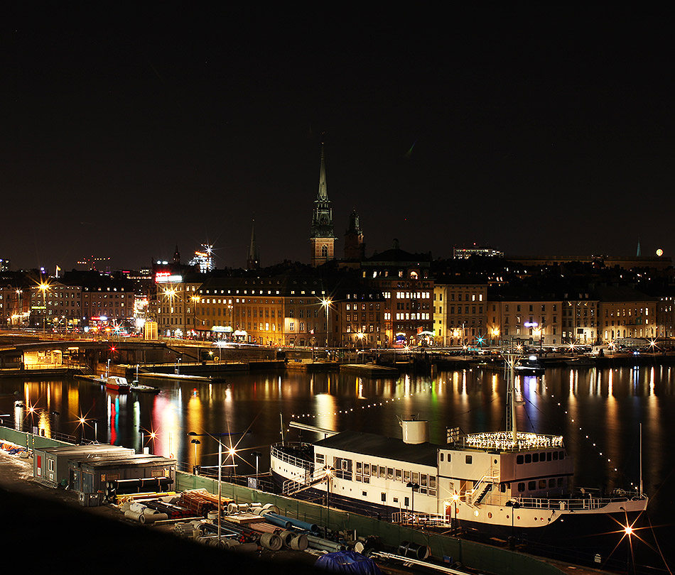 Stockholm at night |Travel