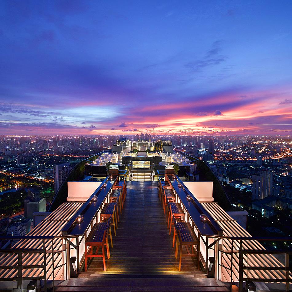rooftop bar in bangkok thailand