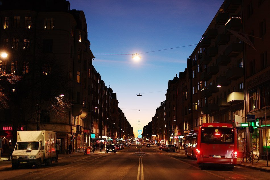 Sunset in Sodermalm, Stockholm | TRAVEL