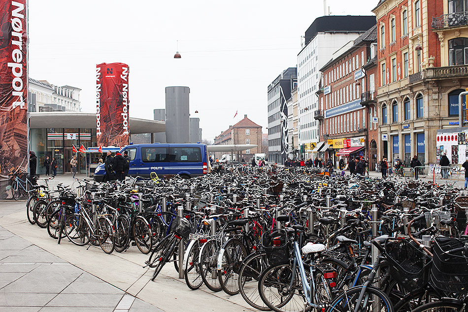 Bikes on Bikes on BIkes | Copenhagen | Travel