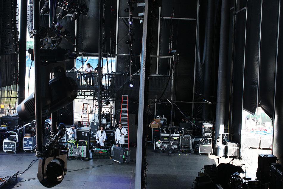 Backstage at Governor's Ball, NYC | 2015