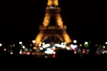 Eiffel Tower at Night, Paris