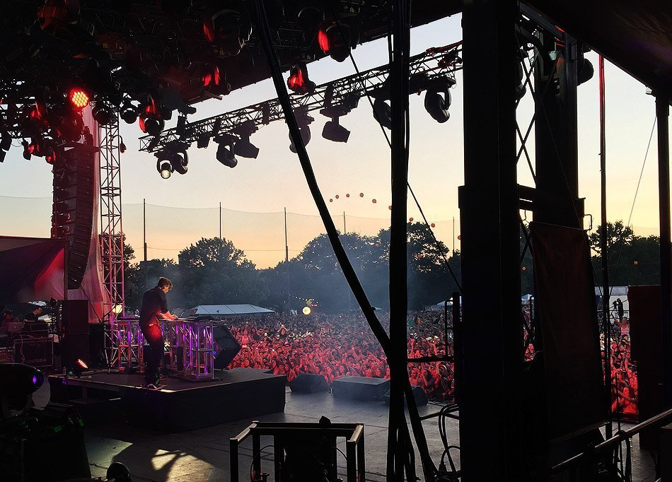Flume at Governor's Ball, NYC | 2015