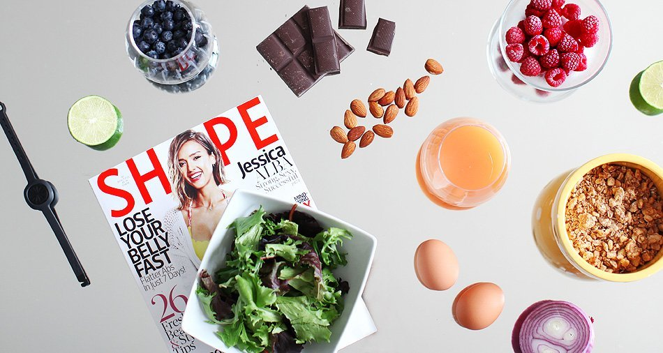 jawbone up move healthy eating spread