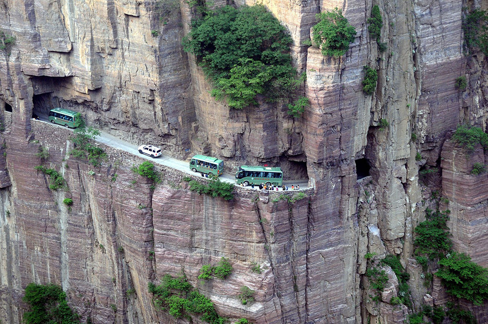 Guoliang Tunnel, China | Most Dangerous Roads In The World