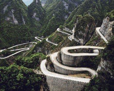 Tianmen-Mountain-Road-China
