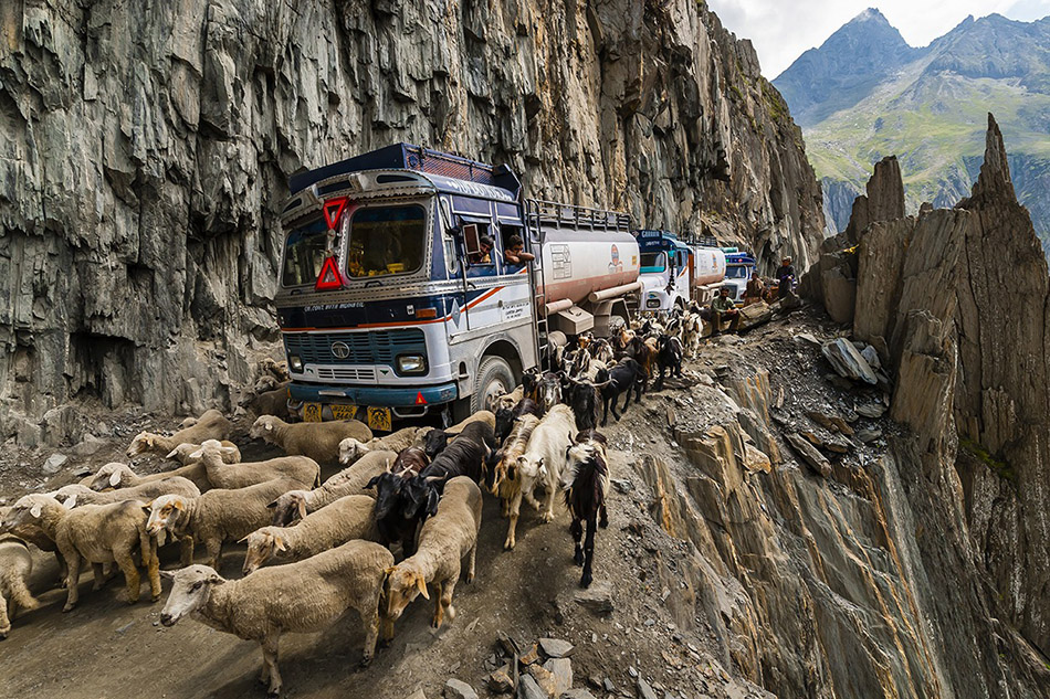 Zoji La, India | Most Dangerous Roads In The World