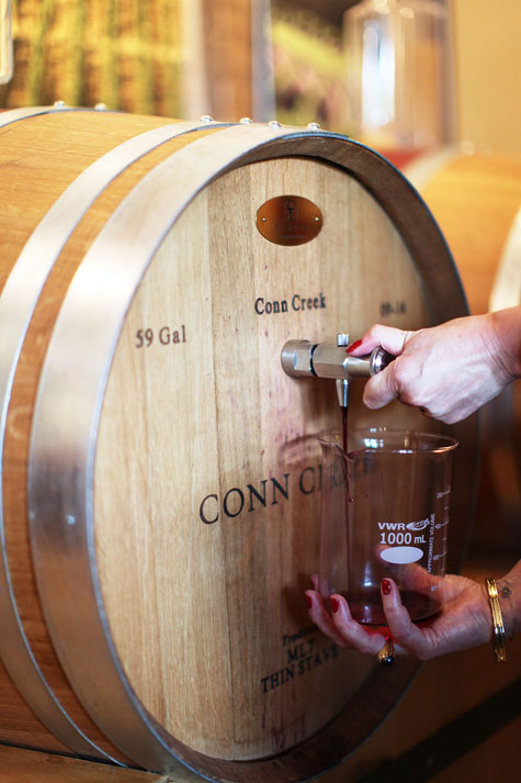 make your own wine napa valley conn creek class