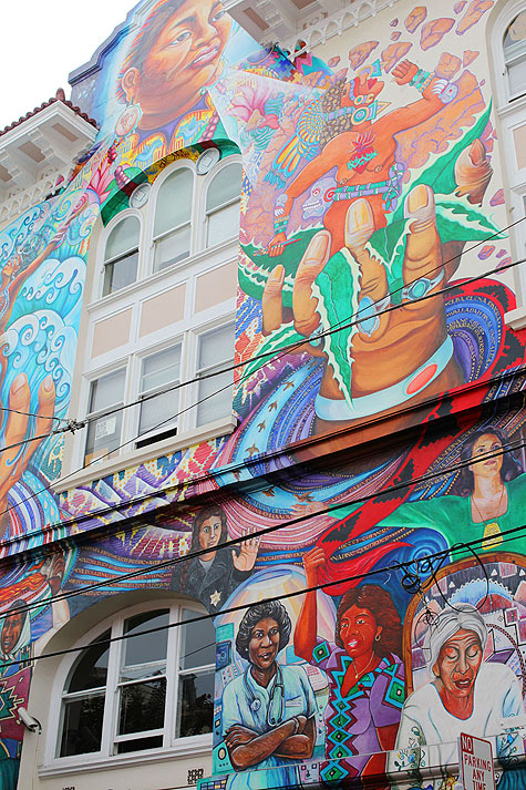 san francisco womens center mural