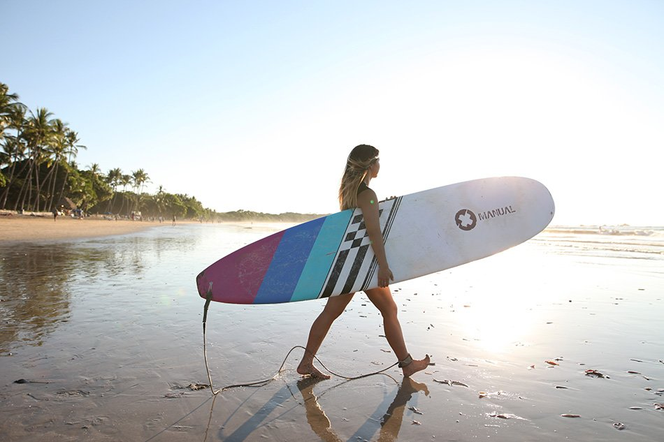 costa rica surfing | #travel | #projectinspo