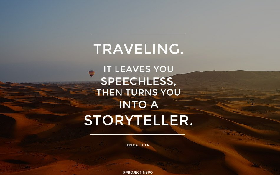 INSPIRATIONAL TRAVEL QUOTE PROJECT INSPO
