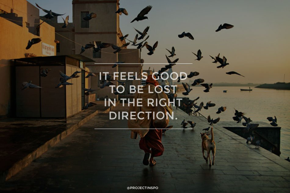 THE RIGHT DIRECTION TRAVEL QUOTES INSPIRATION
