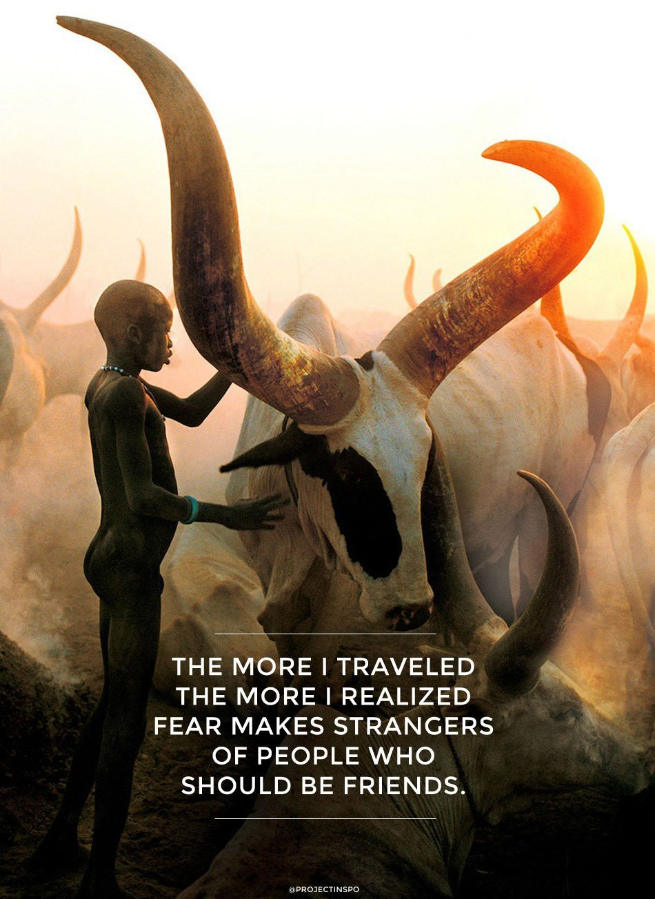 TRAVEL INSPIRATION QUOTE FRIENDS STRANGERS