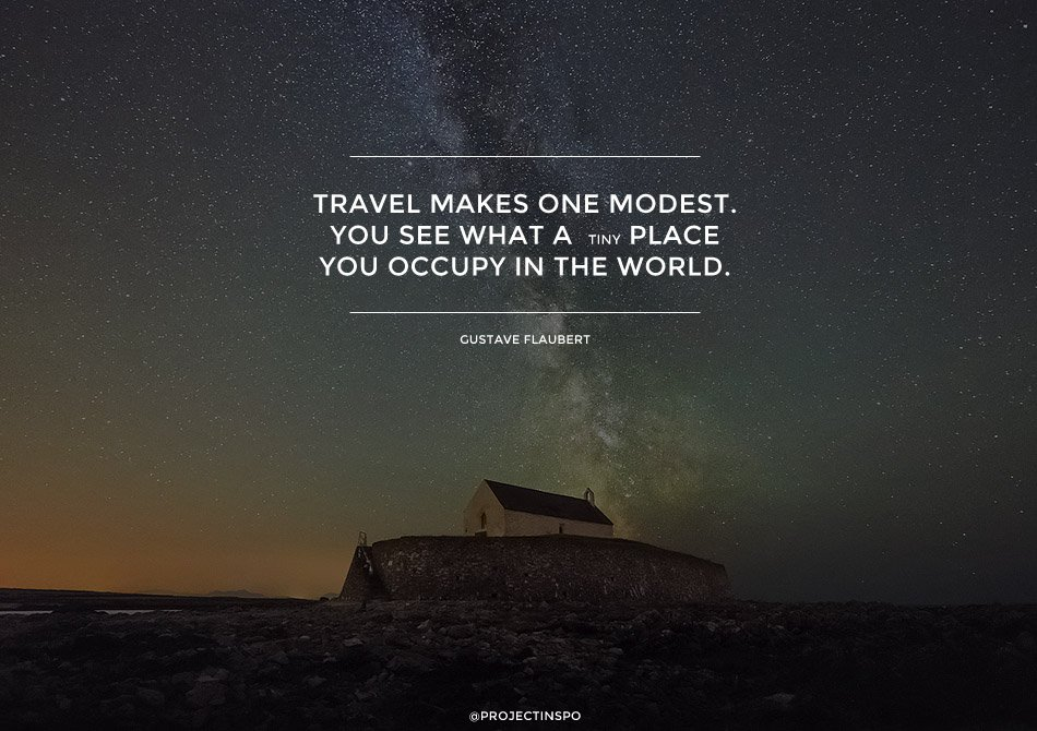 TRAVEL QUOTES MODEST INSPIRATION