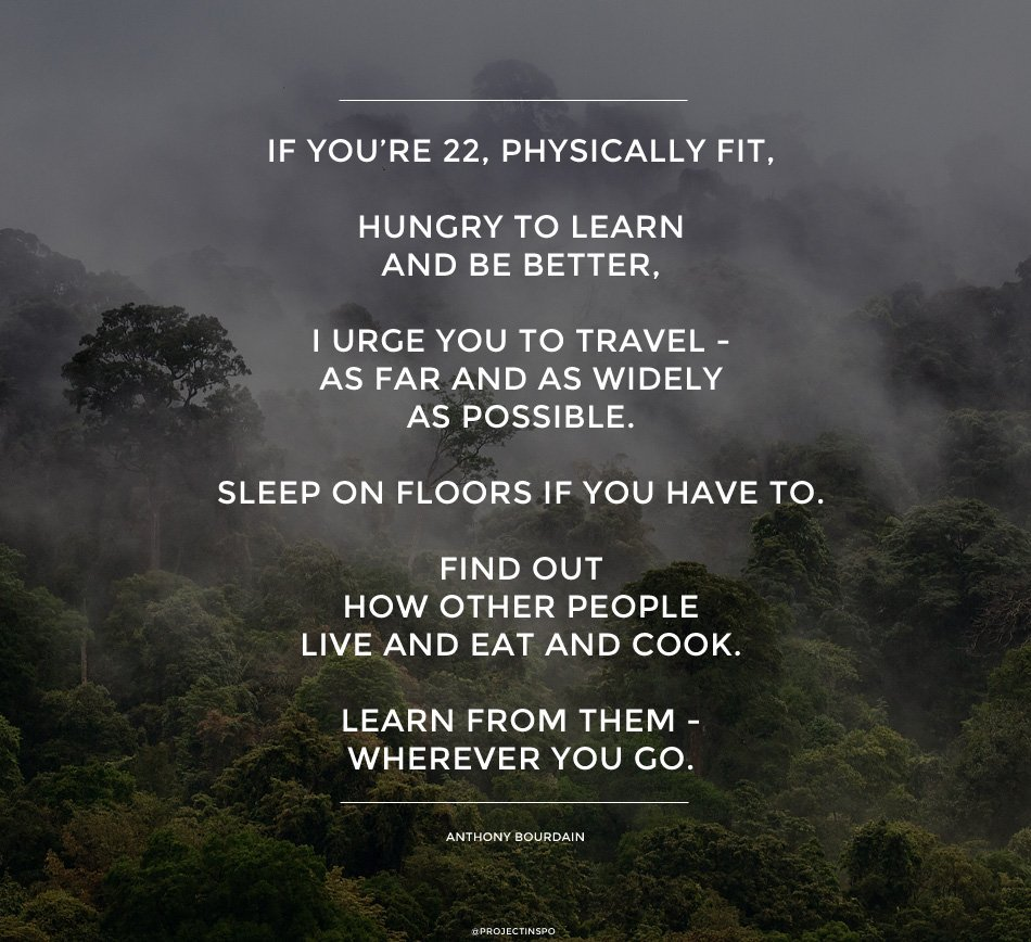 quotes travel youth journey inspiration