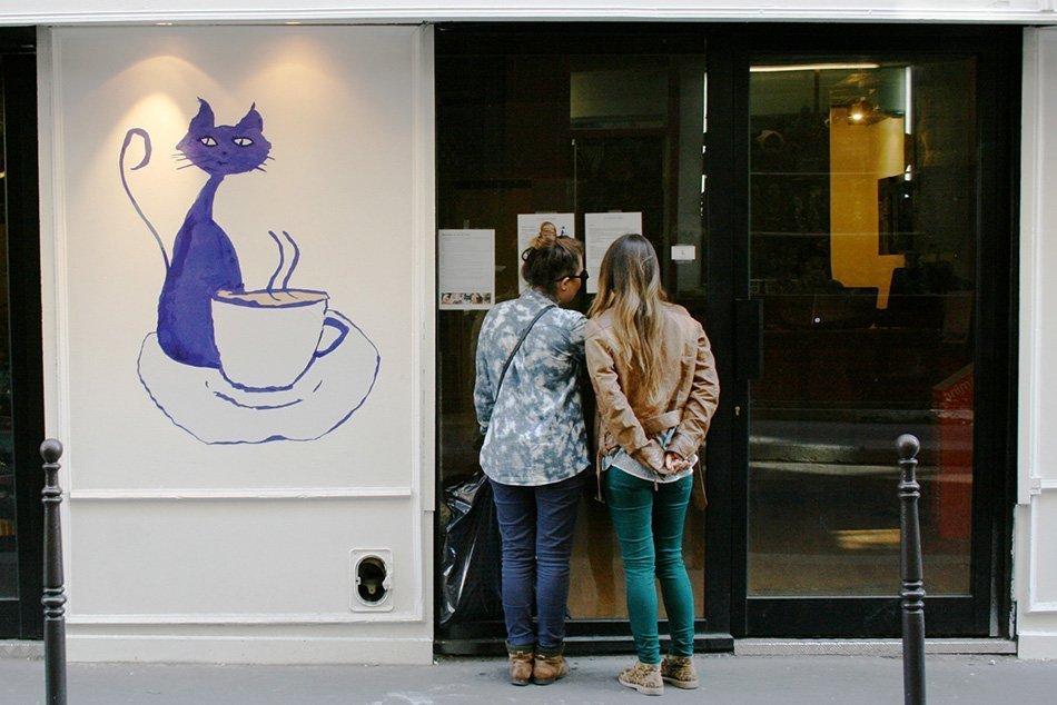 le cafe des chats paris