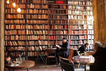 Merci Used Bookstore | The Coolest Cafes in Paris | @projectinspo