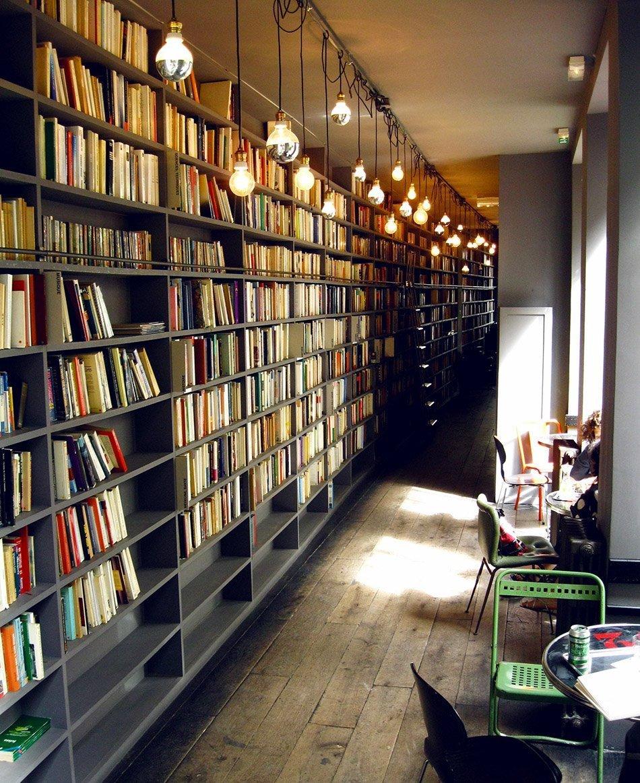merci used book cafe - paris