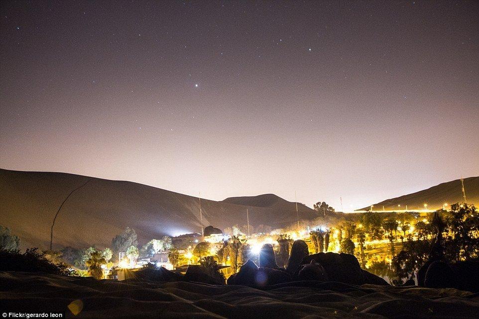 Huacachina, Peru | @projectinspo