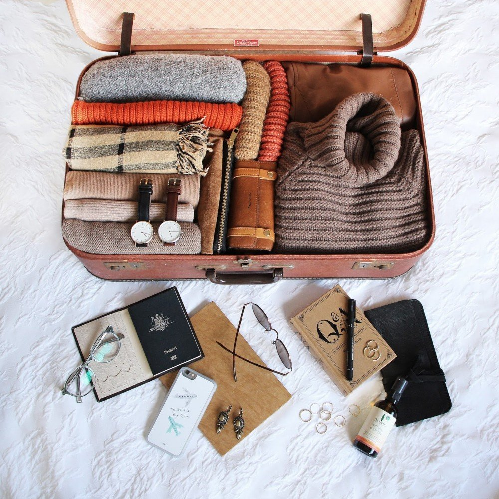 travel packing | @projectinspo