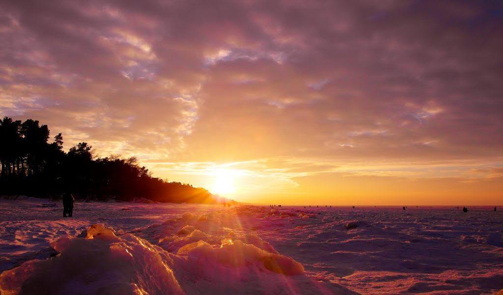 Estonia sunset