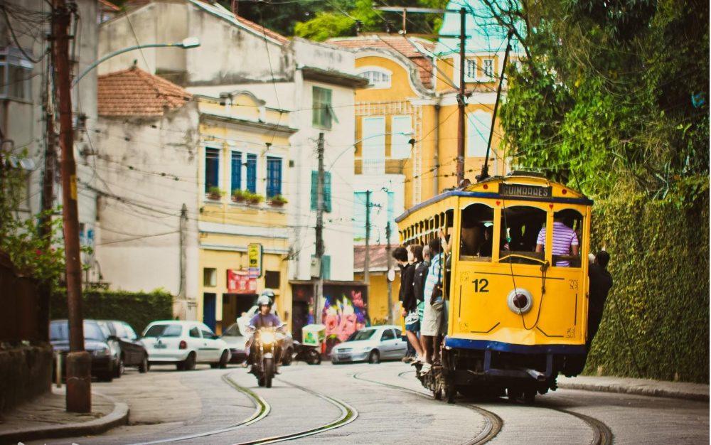 Bonde-Santa-Tereza, Rio de Janeiro, Brazil | @projectinspo