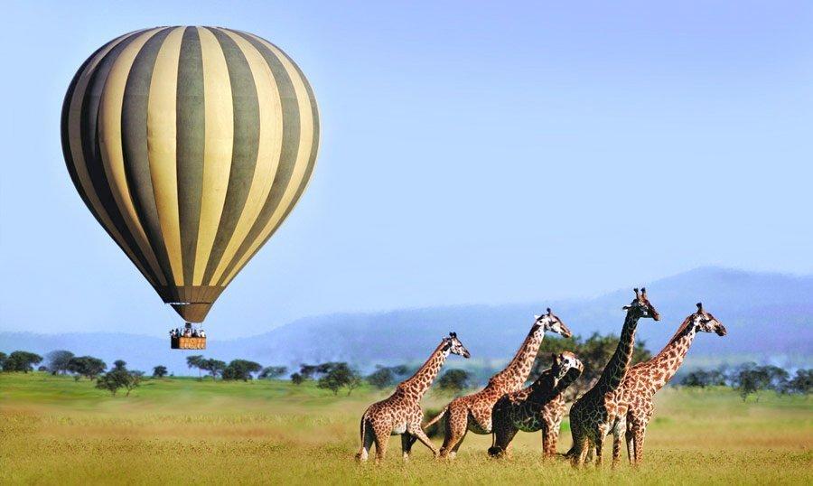 Hot Air Ballooning in Tanzania | travel | @projectinspo