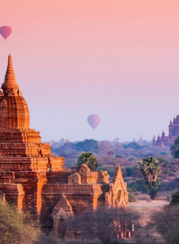Bagan, Myanmar | hot air balloon | travel | @projectinspo