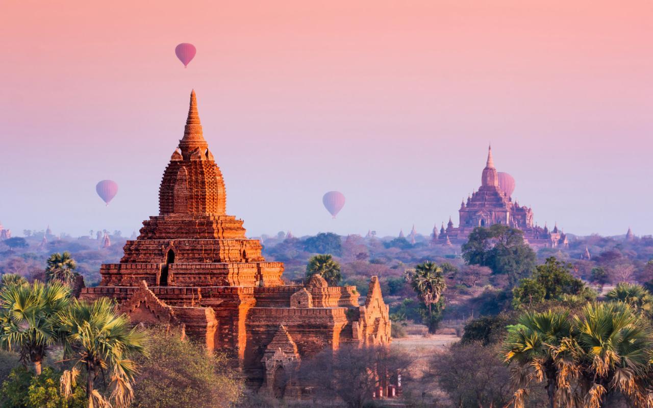 Bagan, Myanmar | hot air balloon | travel | @projectinspo